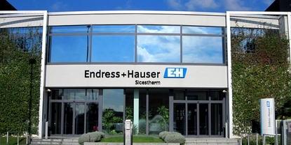 Endress+Hauser Sicestherm à Pessano / Italie
